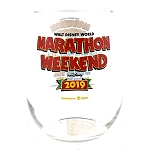 Disney Stemless Wine Glass - Marathon Weekend 2019