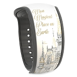 Disney MagicBand 2 Bracelet - Cinderella Castle - Most Magical Place