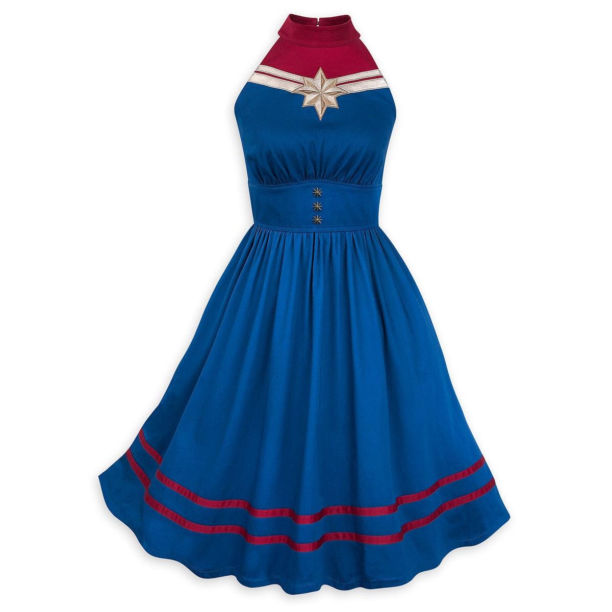 0a3175aae Disney Dress Shop Dress - Captain Marvel Dress by Her Universe