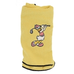 Disney Golf Towel - Daisy Duck - Yellow