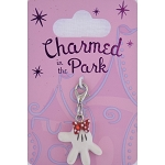 Disney Dangle Charm - Charmed In The Park - Minnie Mouse Glove