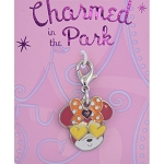 Disney Dangle Charm - Charmed In The Park - Minnie Heart Eyes