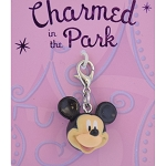 Disney Dangle Charm - Charmed In The Park - Mickey Head - 3D