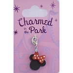 Disney Dangle Charm - Charmed In The Park - Minnie Head Icon