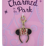 Disney Dangle Charm - Charmed In The Park - Minnie Mouse Ear Headband