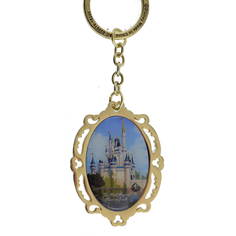 Disney Keychain - The Most Magical Place On Earth Logo