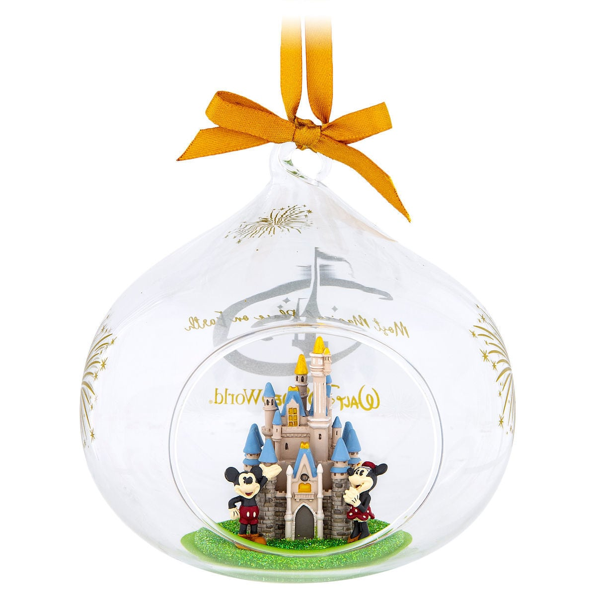 Disney Dome Ornament - Most Magical Place On Earth - Cinderella Castle
