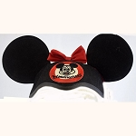 Disney Hat - Ears Hat - Classic Mickey Mouse Club Mouseketeer - Minnie Mouse