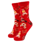 Disney Child Socks - D'Lish Cupcake - Minnie Disney Treats