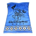 Disney Golf Towel - Donald Duck Golfing