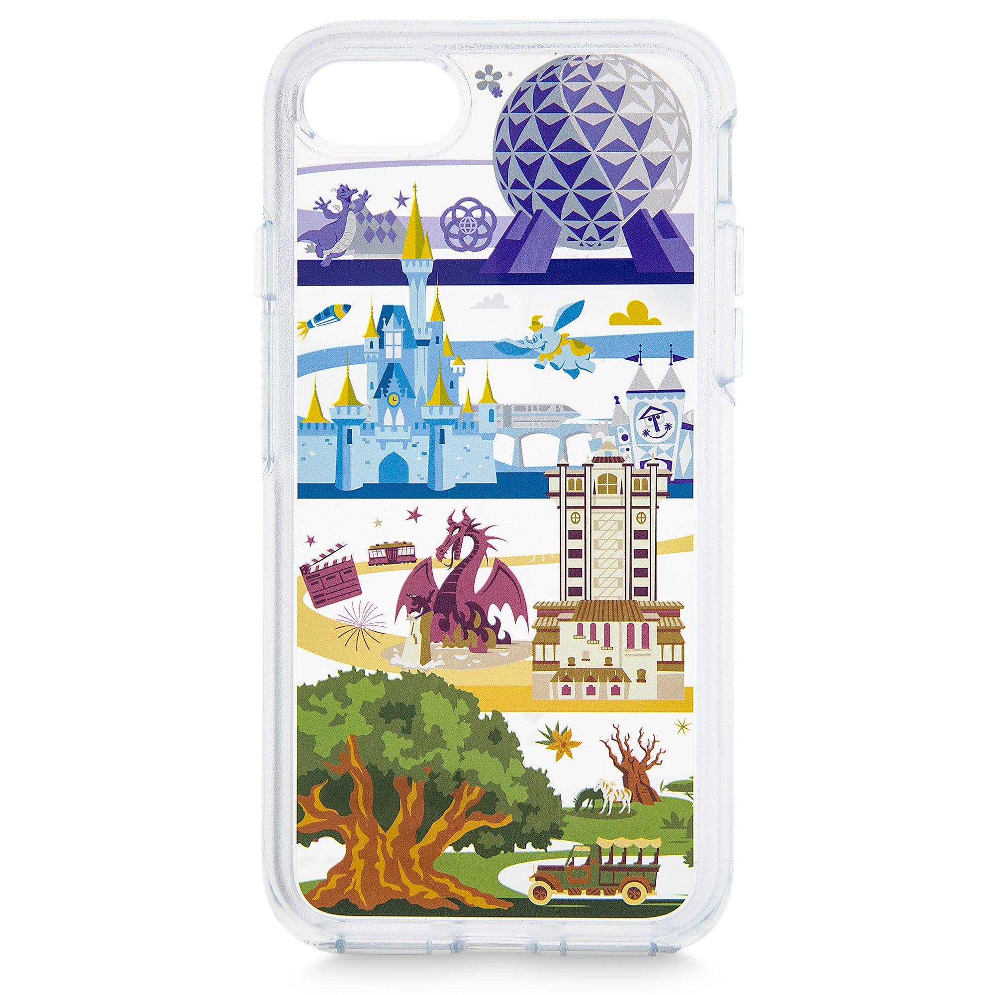 best service 88d4e 63c9b Disney OtterBox iPhone 8/7/6s Case - Disney World Attractions