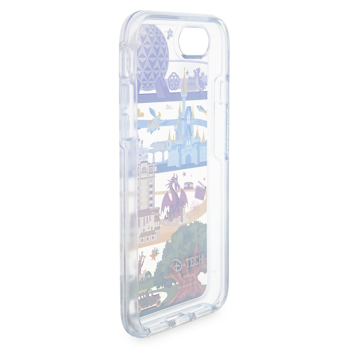 new product 314d3 0dae2 Disney OtterBox iPhone 8/7/6 PLUS Case - Disney World Attractions