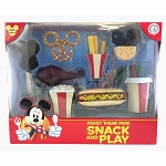 Disney Figurine Set - Theme Park Snack and Play