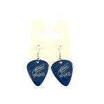 Disney Earrings - Rock 'n' Roller Coaster Guitar Pick - Blue