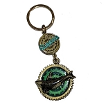 SeaWorld Keychain - Steampunk Orca Whale with Magnifier