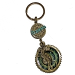 SeaWorld Keychain - Steampunk Seahorse with Magnifier