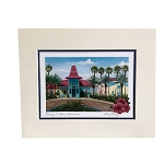 Disney Artist Print - Larry Dotson - Disney's Caribbean Beach Resort - Port Royale