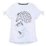 Disney Women's Shirt - Minnie Mouse Sequined Umbrella