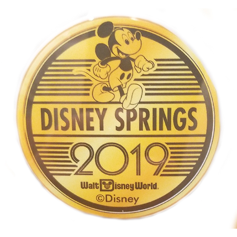 Disney World Pocket Token Coin - Disney Springs - 2019