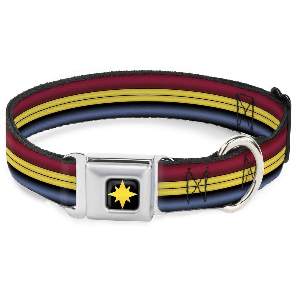 Disney Designer Pet Collar - Captain Marvel