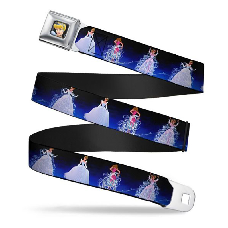 Disney Designer Seatbelt Belt - Cinderella Transformation