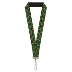Designer Pin Lanyard - Christmas Sweater