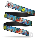 Disney Designer Seatbelt Belt - Ariel and Sebastian