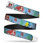 Disney Designer Seatbelt Belt - The Little Mermaid - Under the Sea
