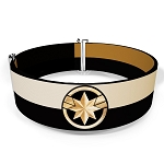 Disney Cinch Waist Belt - Captain Marvel Gold Flare