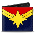 Disney Designer Bi-Fold Wallet - Captain Marvel