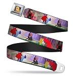Disney Designer Seatbelt Belt - Sleeping Beauty and Prince - Dancing