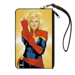 Disney Designer Canvas Zipper Wallet - Large - Captain Marvel