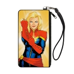 Disney Designer Canvas Zipper Wallet - Small - Captain Marvel