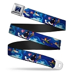 Disney Designer Seatbelt Belt - Peter Pan Flying