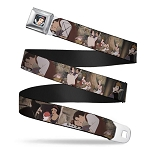 Disney Designer Seatbelt Belt - Snow White Classic Movie Scenes