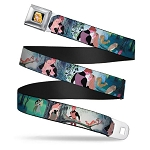 Disney Designer Seatbelt Belt - Sleeping Beauty - Classic Woods Scene