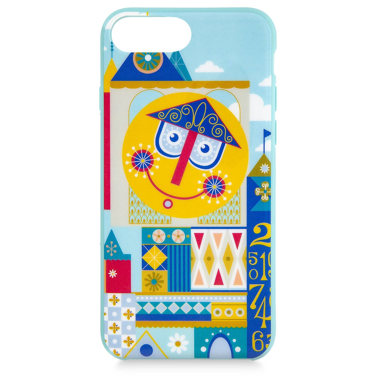 Disney iPhone 8/7/6 PLUS Case - it's a small world Clock