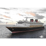 Disney Postcard - Disney Cruise Line - Disney Magic