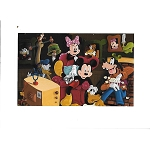 Disney Postcard - Mickey and Friends by Randy Noble