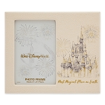 Disney Photo Frame - Disney World Castle - Faux Leather - 4'' x 6''