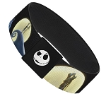 Disney Designer Elastic Bracelet - NBC - Jack Sally and Zero - Moon Scenes