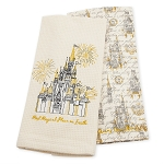Disney Kitchen Towel Set - Fantasyland Castle - Most Magical Place on Earth