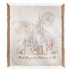 Disney Throw Blanket - Cinderella Castle - Most Magical Place on Earth