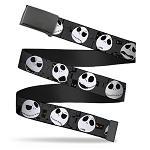 Disney Web Belt - NBC Jack Expressions - Gray