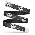Disney Designer Seatbelt Belt - NBC - Jack -Halloween Elements
