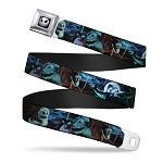 Disney Designer Seatbelt Belt -  Santa Jack - Nightmare Before Christmas