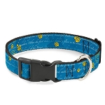Disney Designer Breakaway Pet Collar - Beauty and the Beast - Story Script