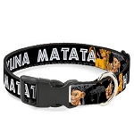 Disney Designer Breakaway Pet Collar - Lion King - Simba and Nala - Hakuna Matata