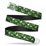 Disney Designer Seatbelt Belt - Monsters Inc. - Eye Collage