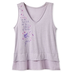 Disney Women's Shirt - Pocahontas Tank Top - Colors of the Wind